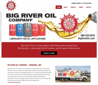 Big River Oil Website