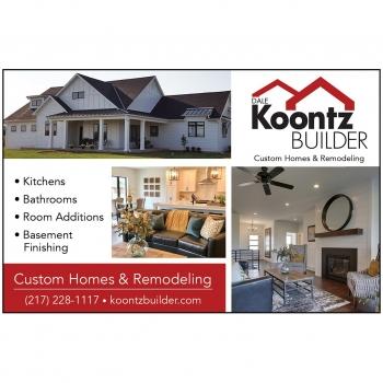 Koontz Builder Print Ad