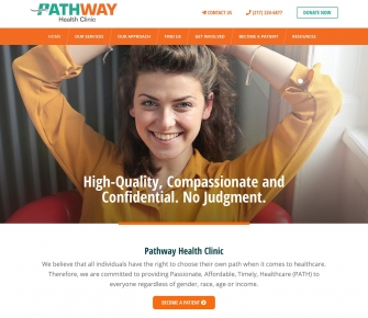 Pathway Health Clinic Website
